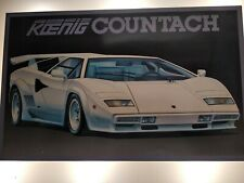 Koenig Lamborghini Countach Quattrovalvole - FUJIMI 1:16 - Made In Japan - 10109