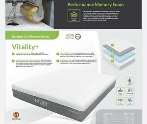 Vitality Plus California King From MLily Memory Foam Mattress(Make Offer)