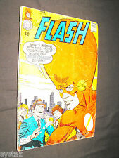 FLASH # 177 1968 BIG HEADED FLASH COMIC IS IN VERY GOOD CONDITION