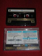 VINTAGE  1  AUDIO CASSETTA  MAXELL  XLII POSITION CrO2  90  ( ANNI '80 )