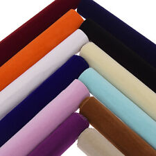 Premium Crushed Velvet Fabric Multi Color A4/A3/A5 Self-adhesive Clothing DIY