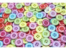 50 Stück bunte Kinderknöpfe Knöpfe 13mm #8244