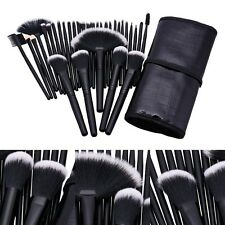 32Pcs Professionnel Maquillage Ensemble De Brosses Base Kabuki Pinceaux + Pouch
