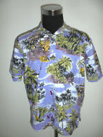 true vintage 80er Jahre Hawaii Hemd surfer hawaiihemd oldschool 80s shirt M