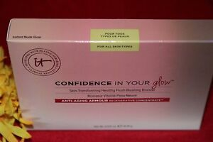 IT COSMETICS CONFIDENCE YOUR GLOW INSTANT NUDE BLUSHING BRONZER 100% AUTHENTIC