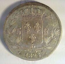 FRANCE - LOUIS XVIII - 5 FRANCS 1823 L - TTB - F. n°309 (81)
