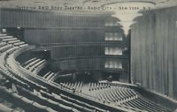 Interior R.K.O. Roxy Theater, Manhattan, N.Y.C., Early Postcard, Used in 1934