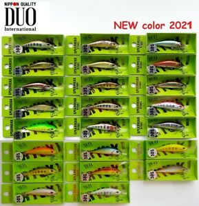 DUO Spearhead Ryuki 50S Takumi Fishing, Japan Wobbler, Bait, Trout, Predators