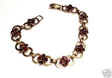 Altes Granatarmband Damen Armband 333er Gold Granate Länge 18,5 cm 8 Karat GG