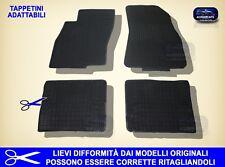 Tappetini auto in Gomma su misura – Tappeti Set 4 Fiat Grande Punto, G.Punto Evo