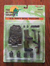 """Ultimate Soldier 1/6 12"""" Navy Seal Recon Accessories Set New on Sealed Card"""