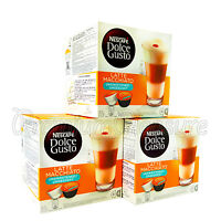 Nescafe Dolce Gusto Latte Macchiato Unsweetened NO added sugar 16 or 48 capsules