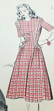1940s Sewing Pattern HOLLYWOOD Barbra Britton DRESS  Size 12 Bust 30 Hips 33 A4