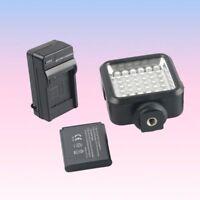 Portable Photography Video Light 36 LED For Canon Nikon DSLR Camera Camcorder DV