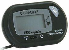 Aquarium Water Digital Thermometer Battery Operated Fish Tank Temperature Gauge
