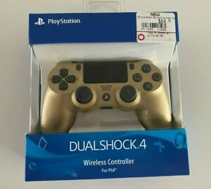 Sony DualShock 4 Wireless Controller for PS4 Gold NIB