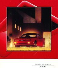 New listing 1991 Isuzu Impulse Brochure -Isuzu Impulse Rs Turbo-Isuzu Impulse Xs