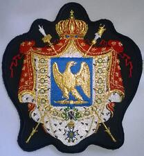 Frankreich, Wappen (1804, unter Napoleon I) Aufnäher, edel bestickt.