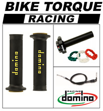 YZF600 R6 2008>  Domino XM2 Quick Action Throttle Kit Black Yellow RR Grips