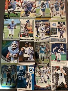 (115) North Carolina Tar Heels Football Card Lot! Taylor- Peppers- Trubisky