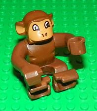 LEGO - Duplo Monkey, Earth Orange Face and Ears - Brown