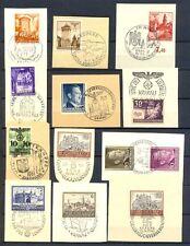 Generalgouvernement 1939-45  20 SST Briefstücke TOP aus Auflösung (G10)