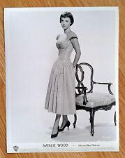 NATALIE WOOD rare vintage 1950s US 8x10 PIN UP FASHION publicity studio still 97