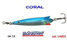 ARTIFICIALE ONDULANTE  titan CORAL TOBY COL LA013  BLU gr 20 CM 7,5 GRAUVELL