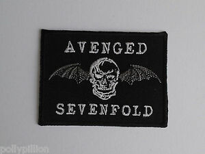 Avenged Sevenfold Sew or Iron On Patch