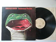 RARE LP / URIAH HEEP / INNOCENT VICTIM / ORIGINAL ESPAGNE
