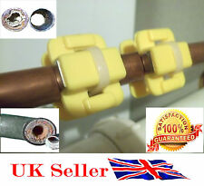 2 x  HOME Magnetic Water SOFTENER Conditioner Limescale Remover UK SELLER