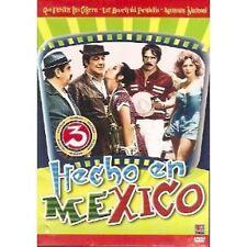 Hecho en Mexico DVD NEW 3 Pk Que Familia Tan Cotorra Mecanica Nacional Y Mas!
