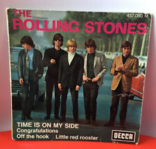 FRENCH EP THE ROLLING STONES TIME IS ON MY SIDE
