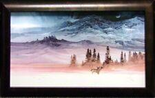 "Michael Atkinson""Serenity"" Mountain & deer Hand Signed Make an Offer"