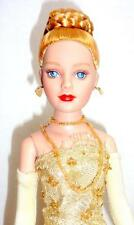 "Tonner Tiny Kitty Collier Golden Goddess 10"" Fashion Doll Blonde Box Stand"