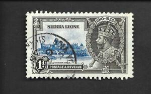SIERRA LEONE - 1935 - 1d - SG 181 - USED.
