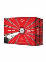 Callaway Chrome Soft Golf Balls - 2 Dozen White -  Mens