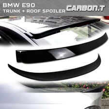 Stock IN US For BMW E90 Roof + High Kick P Type Trunk Spoiler 05-11 Painted #475