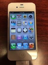 Apple iPhone 4S  16GB - Sprint (MD378LL) Fully Functional/BAD IMEI/Cracked Back