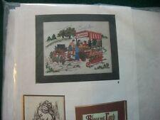 "Artcraft Concepts ""Flower Vendor"" Crewel Embroidery Kit Size 20"" x 16"""