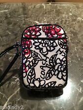 NOW $10 OFF-COACH FLORAL GRAFFITI  COATED CANVAS UNIVERSAL CASE