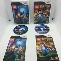LEGO Harry Potter: Years 1-4 & 5-7 - Nintendo Wii CIB Complete in Box