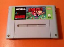 Zombies-SNES-SUPER NES-PAL-solo carro