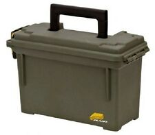 Plano Ammo Box - Water Resistant Lockable Ammunition Can Green Plastic Dry Box!