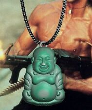 Collier rambo bouddha vert edition limitée Rambo limited edition necklace