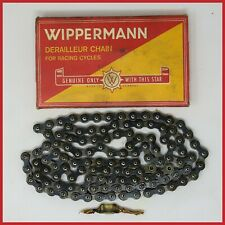 Nos Wippermann Red Star Chain 3/32 Vintage Road Bike Bicycle Racing Eroica Old