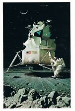 "Norman Rockwell print ""Man On The Moon"" 50th Anniversary Lunar Space-x Apollo 11"