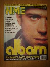 NME 2000 NOV 4 DAMON ALBARN BLUR EMINEM COLDPLAY SUEDE