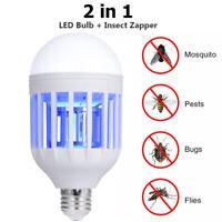 Ampoule DEL Anti-Moustique DEL Energie Solaire Zapper Insecte Flying Moth Killer Lampe K