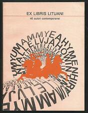 EX Libris Lituani - 1989 - pagine 106 - perfetto / Ex Libris Lietuva